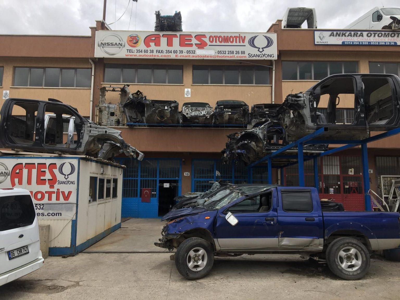 SsangYong Çıkma Parça, Ford Çıkma Parça, Nissan Pikap Çıkma Parça - Ateş Otomotiv