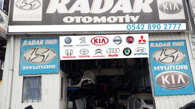 Hyundai Çıkma Parça - Radar Otomotiv
